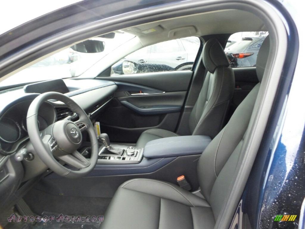2020 CX-30 Select AWD - Deep Crystal Blue Mica / Black photo #8