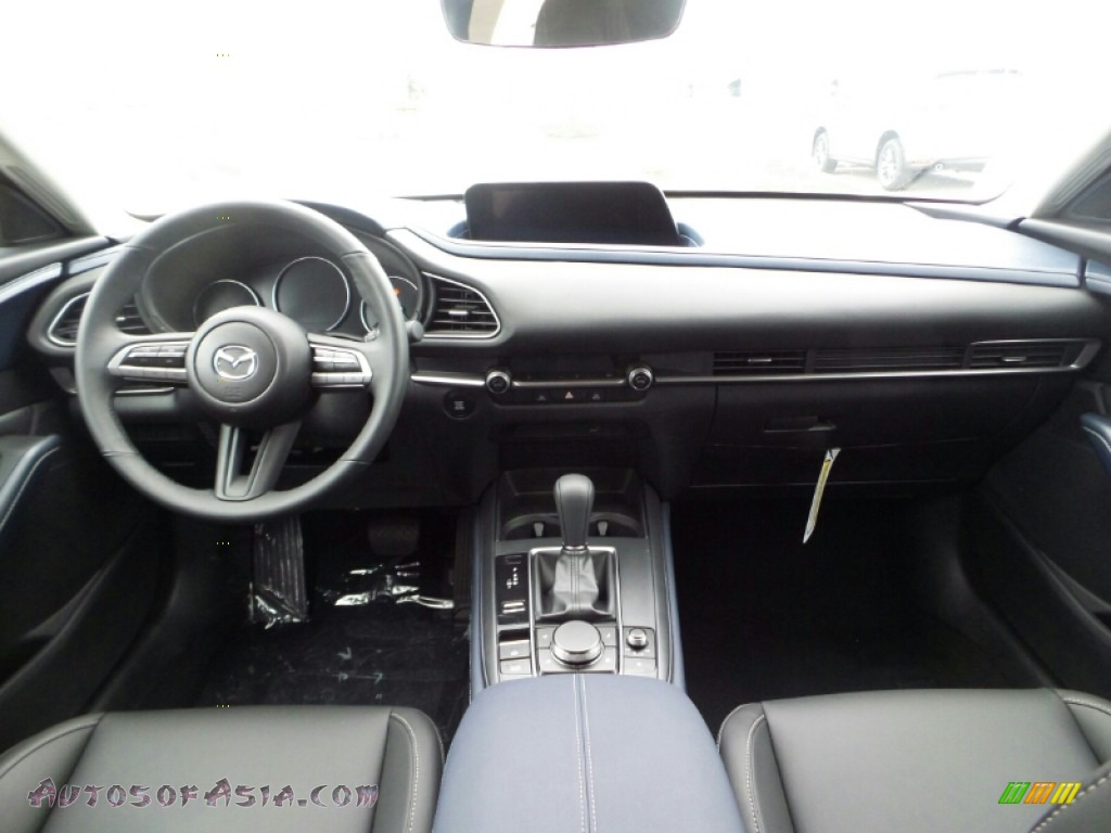 2020 CX-30 Select AWD - Deep Crystal Blue Mica / Black photo #10