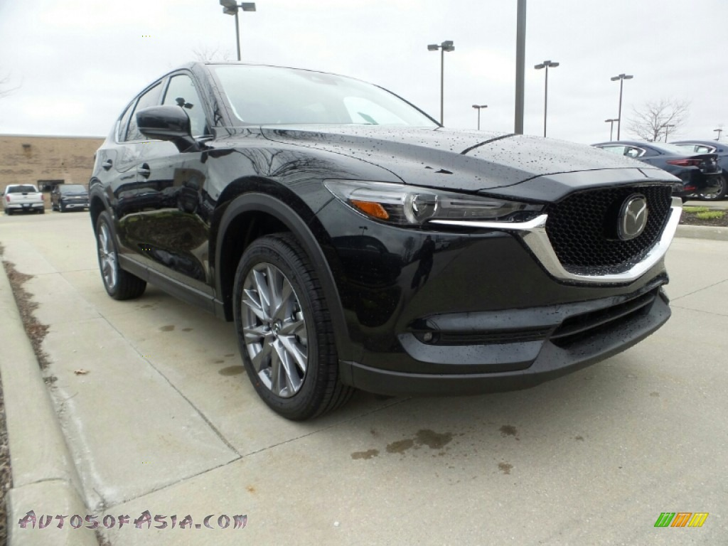 2020 CX-5 Grand Touring AWD - Jet Black Mica / Black photo #1