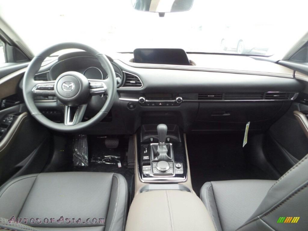 2020 CX-30 Premium AWD - Deep Crystal Blue Mica / Black photo #10