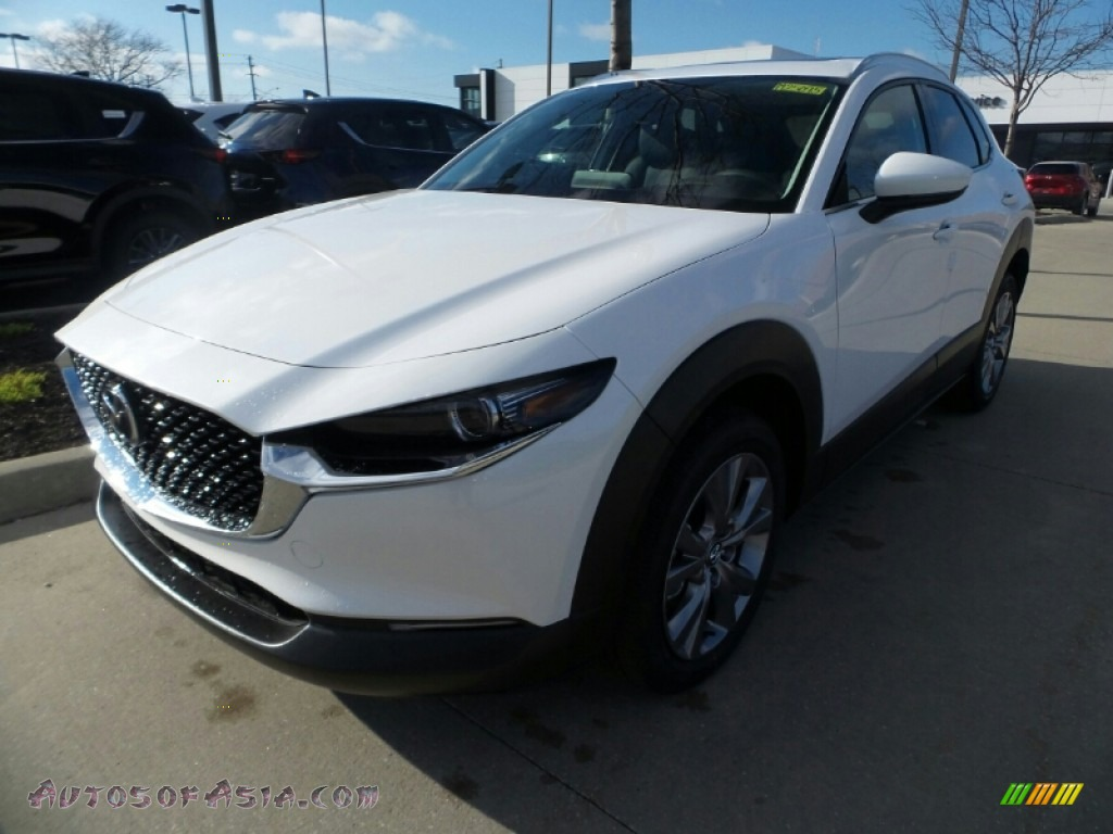 2020 CX-30 Premium AWD - Snowflake White Pearl Mica / Black photo #3