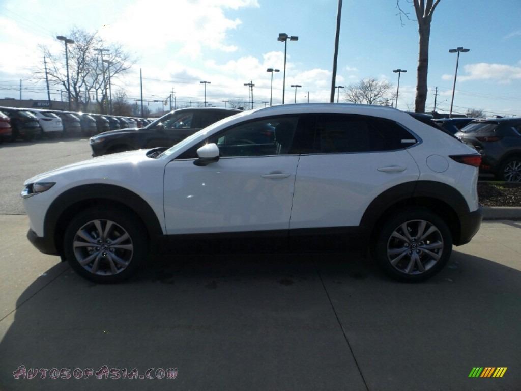 2020 CX-30 Premium AWD - Snowflake White Pearl Mica / Black photo #4