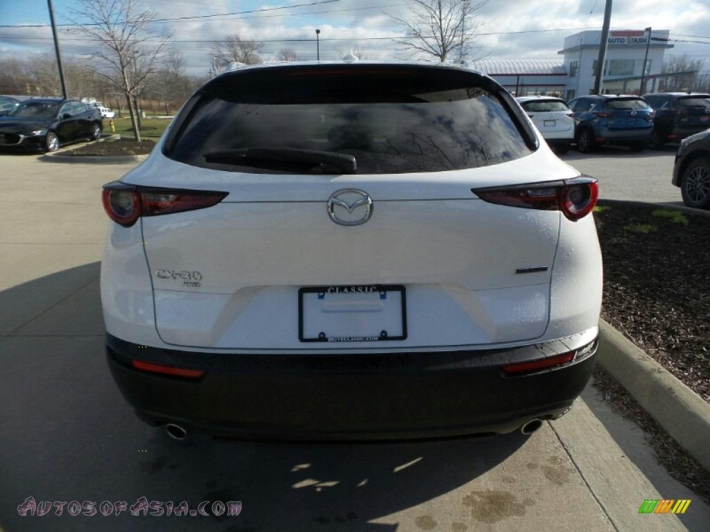 2020 CX-30 Premium AWD - Snowflake White Pearl Mica / Black photo #6