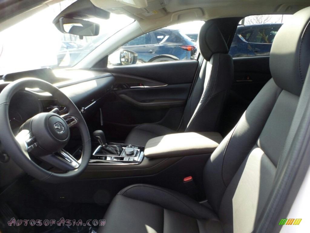 2020 CX-30 Premium AWD - Snowflake White Pearl Mica / Black photo #8