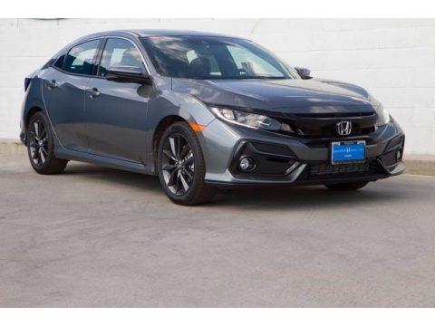Polished Metal Metallic 2020 Honda Civic EX-L Hatchback