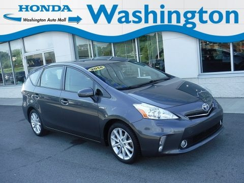 Magnetic Gray Metallic 2014 Toyota Prius v Five