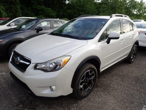 Satin White Pearl 2014 Subaru XV Crosstrek 2.0i Limited