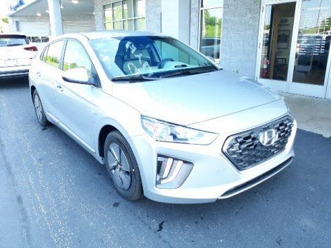 Stellar Silver 2020 Hyundai Ioniq Hybrid SE