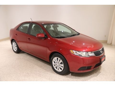 Spicy Red 2011 Kia Forte EX