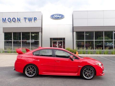 Pure Red 2017 Subaru WRX STI Limited