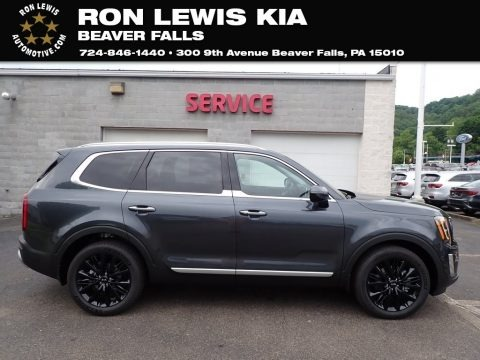 Gravity Grey 2020 Kia Telluride SX AWD
