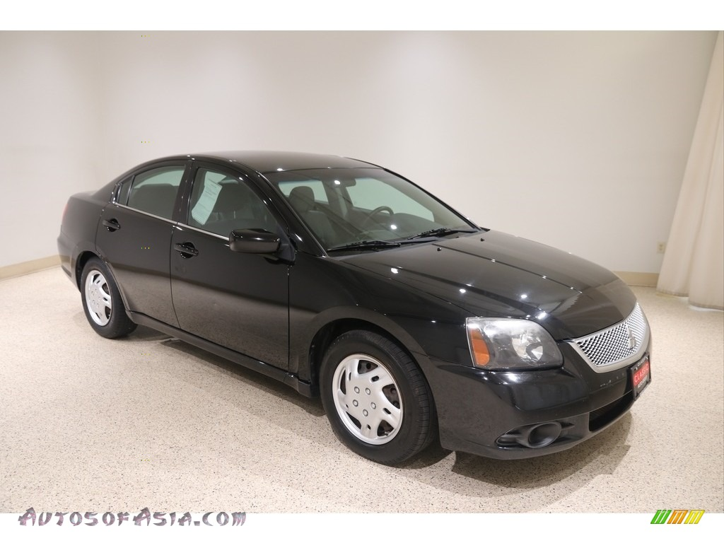 2011 Galant ES - Kalapana Black / Medium Gray photo #1