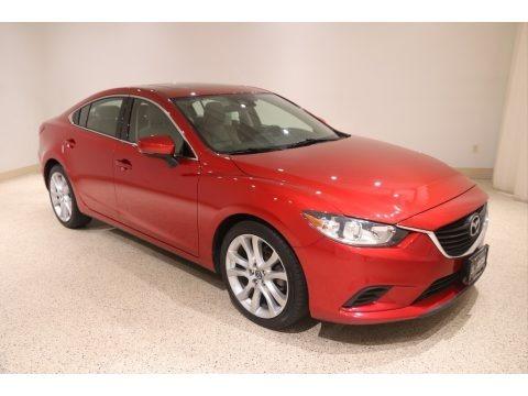 Soul Red Metallic 2017 Mazda Mazda6 Touring