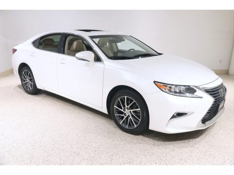 Eminent White Pearl 2017 Lexus ES 350