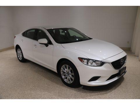 Snowflake White Pearl Mica 2017 Mazda Mazda6 Sport