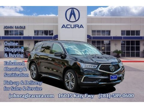 Majestic Black Pearl 2020 Acura MDX Technology AWD