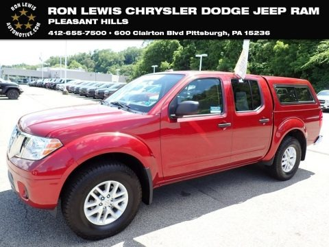 Cayenne Red 2018 Nissan Frontier SV Crew Cab 4x4