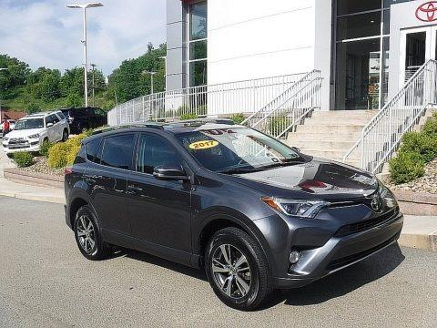 Magnetic Gray Metallic 2017 Toyota RAV4 XLE AWD