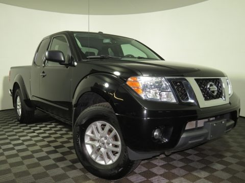 Magnetic Black 2018 Nissan Frontier SV King Cab 4x4