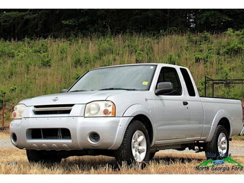 Silver Ice Metallic 2001 Nissan Frontier XE King Cab