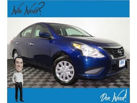 Deep Blue Pearl 2019 Nissan Versa SV