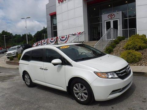 White Diamond Pearl 2014 Honda Odyssey EX-L
