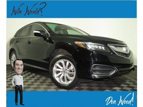 Crystal Black Pearl 2017 Acura RDX Technology AWD