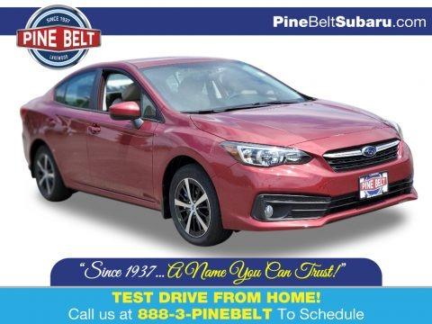 Crimson Red Pearl 2020 Subaru Impreza Premium Sedan
