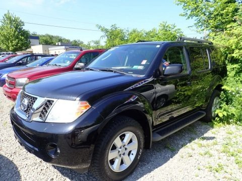 Super Black 2012 Nissan Pathfinder SV 4x4