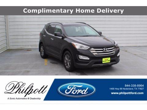 Twilight Black 2016 Hyundai Santa Fe Sport