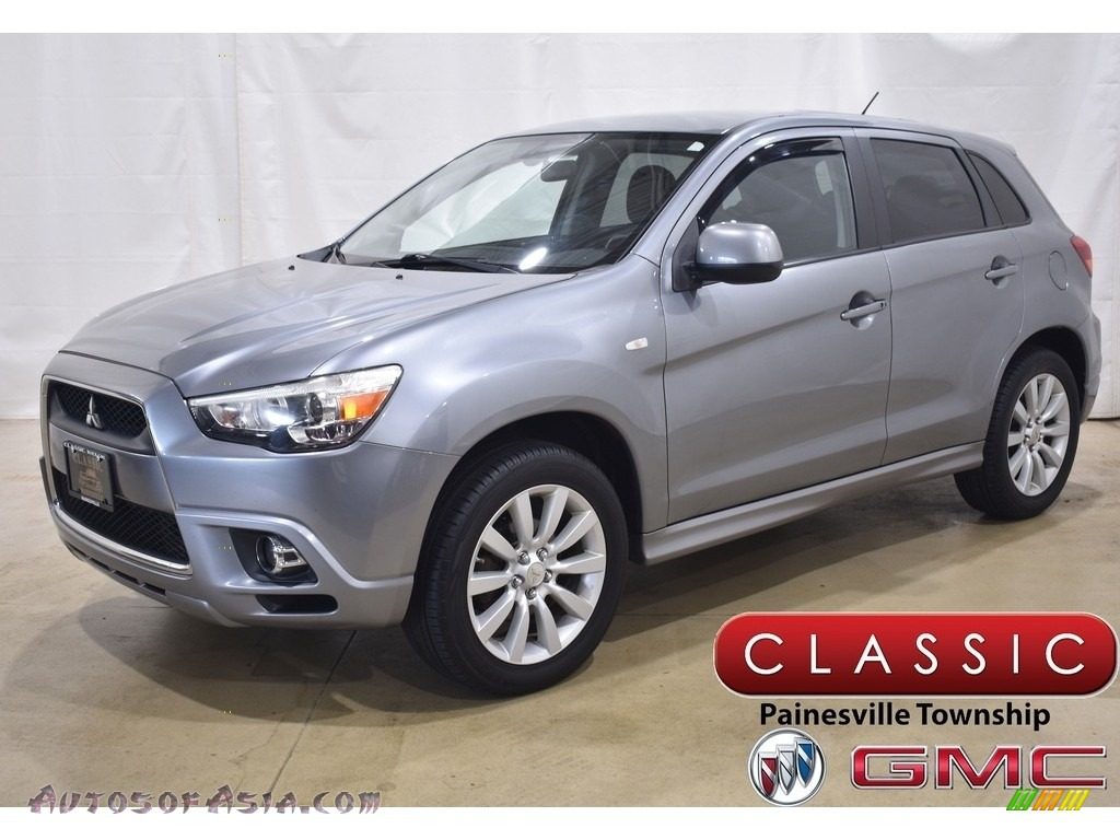 2011 Outlander Sport SE 4WD - Mercury Gray / Black photo #1