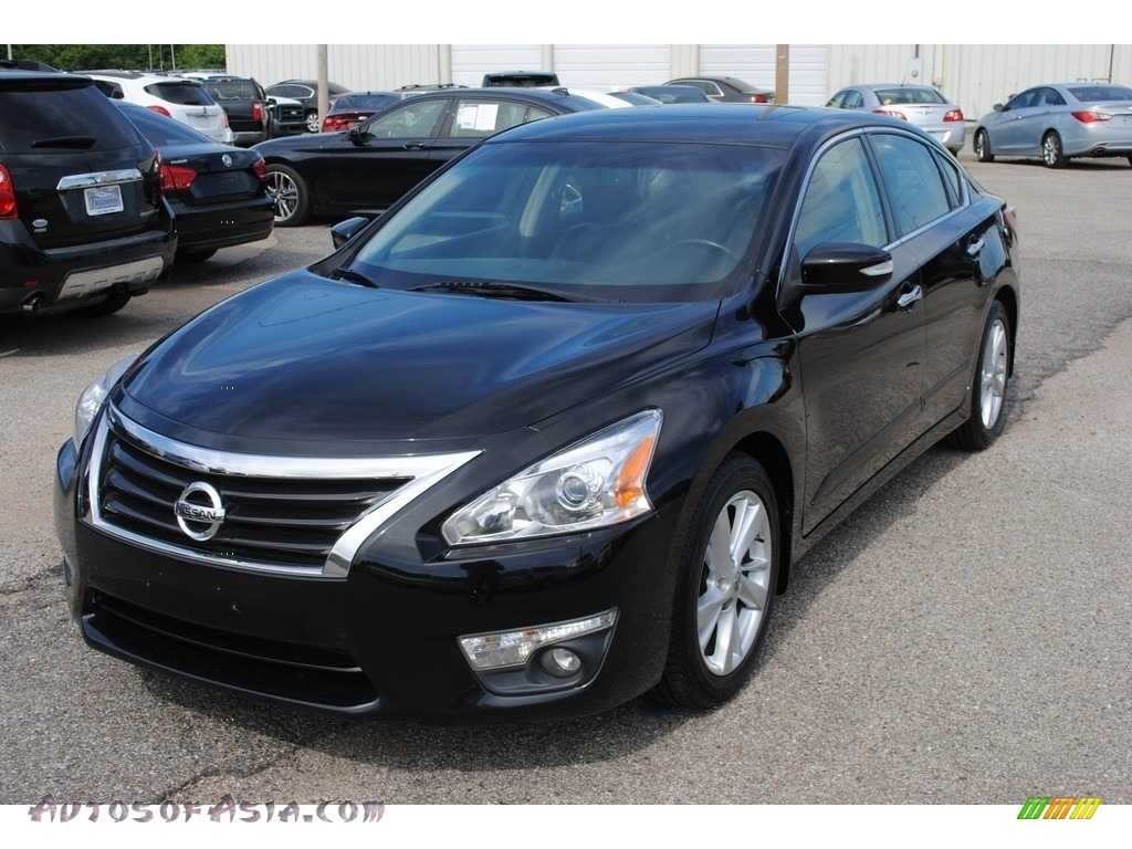 2013 Altima 2.5 SL - Super Black / Charcoal photo #1