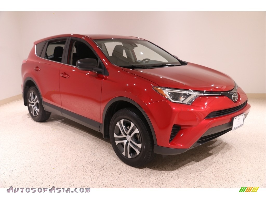 2017 RAV4 LE - Barcelona Red Metallic / Black photo #1