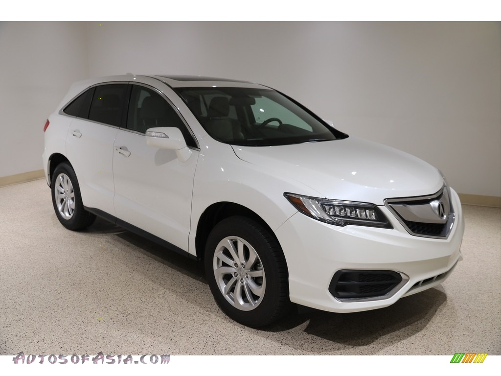 2017 RDX  - White Diamond Pearl / Ebony photo #1