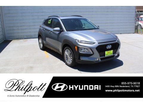 Sonic Silver 2020 Hyundai Kona SEL