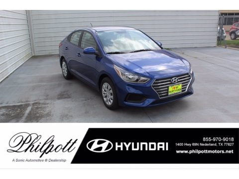 Admiral Blue 2020 Hyundai Accent SE