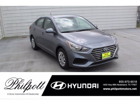 Urban Gray 2020 Hyundai Accent SE