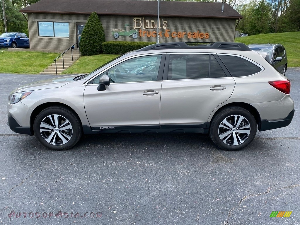 2018 Outback 2.5i Limited - Tungsten Metallic / Ivory photo #1