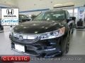 Honda Accord EX-L Sedan Crystal Black Pearl photo #1
