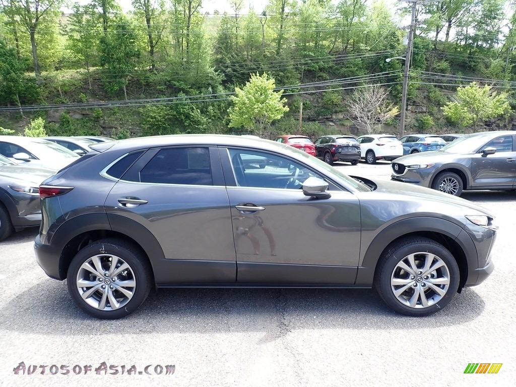2020 CX-30 Select AWD - Machine Gray Metallic / Black photo #1