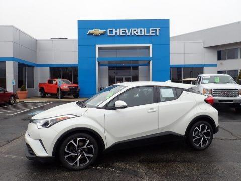 Blizzard White Pearl 2018 Toyota C-HR XLE