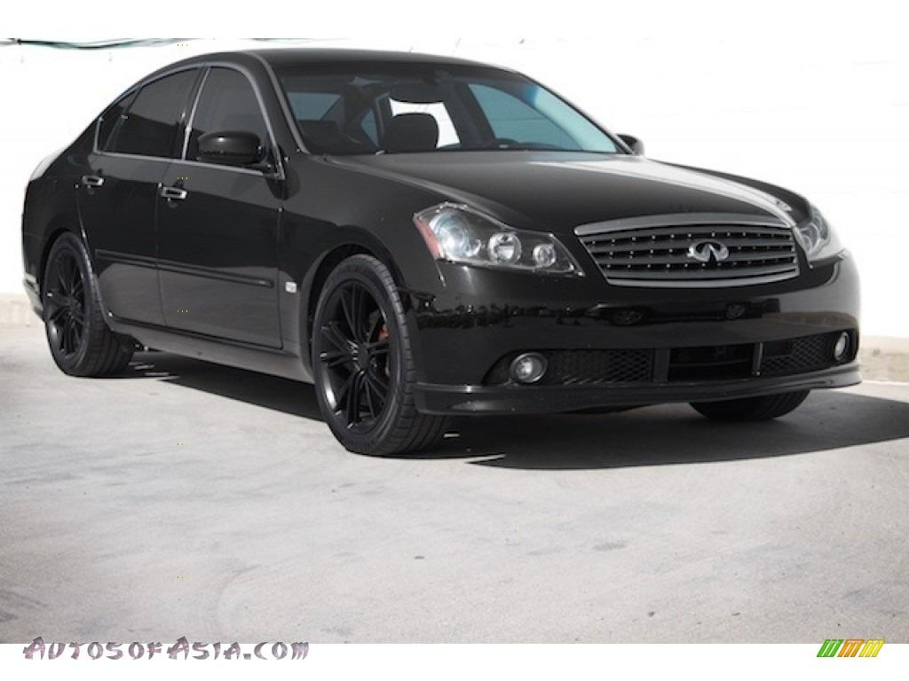 2006 M 45 Sedan - Black Obsidian / Graphite photo #1