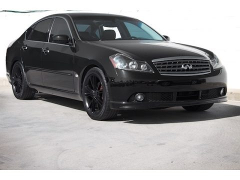 Black Obsidian 2006 Infiniti M 45 Sedan