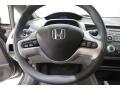 Honda Civic EX Sedan Galaxy Gray Metallic photo #7