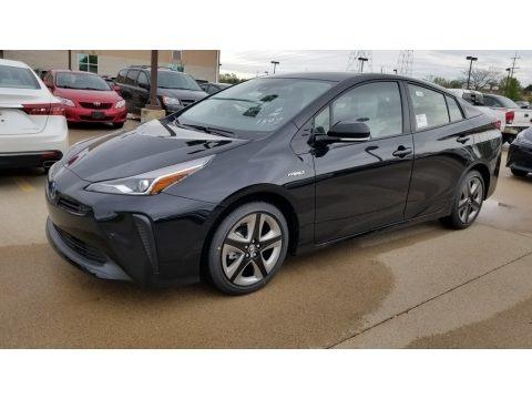 Midnight Black Metallic 2020 Toyota Prius XLE