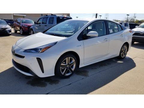 Blizzard White Pearl 2020 Toyota Prius XLE