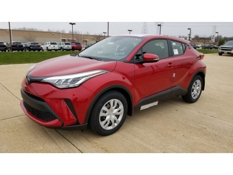Supersonic Red 2020 Toyota C-HR LE