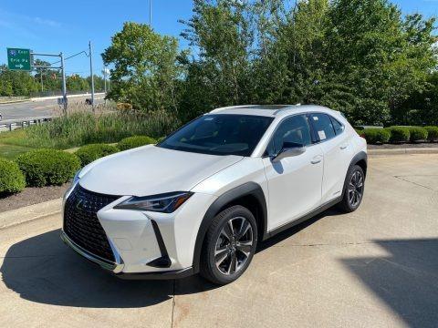 Eminent White Pearl 2019 Lexus UX 250h AWD