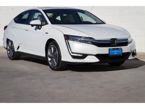 Platinum White Pearl 2020 Honda Clarity Touring Plug In Hybrid