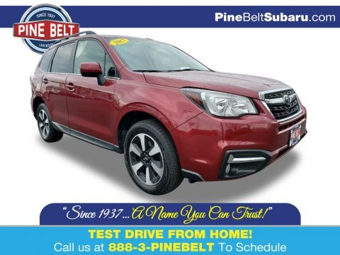 Venetian Red Pearl 2017 Subaru Forester 2.5i Limited